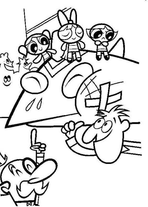 Coloriage et dessins gratuits La victoire des Super Nanas à imprimer
