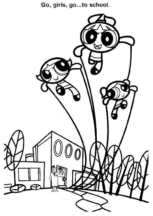 Coloriage et dessins gratuits Super Nana coloriage gratuit à imprimer