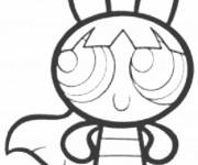 Coloriage et dessins gratuit Super Nana portrait à imprimer à imprimer