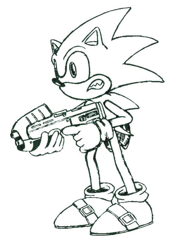 Coloriage Sonic Boom En Ligne Dessin Gratuit à Imprimer