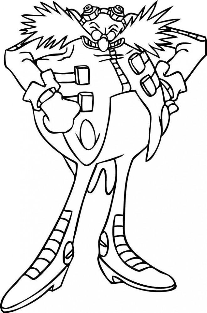 Coloriage sonic dr eggman dessin gratuit imprimer - Dessin anime sonic ...
