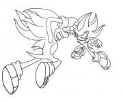 Coloriage Sonic en ligne à imprimer