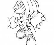 Coloriage Super Sonic 32