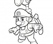 Coloriage Super Sonic 33