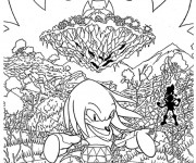 Coloriage Super Sonic 39