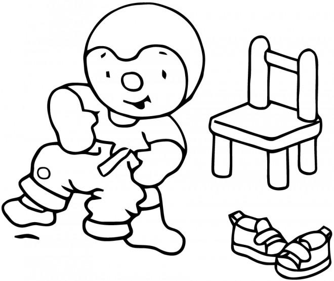 Coloriage image tchoupi porte son pantalon dessin gratuit imprimer - Tchoupi et doudou telecharger ...