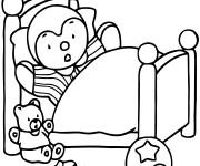 Coloriage dessin  Tchoupi 8