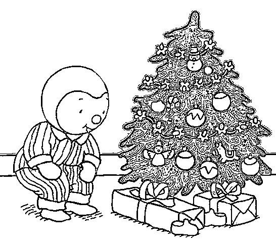 Coloriage tchoupi et l 39 arbre de no l dessin gratuit imprimer - Tchoupi tchoupi ...