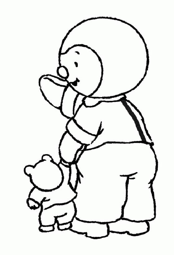 Coloriage tchoupi prend la main de doudou dessin gratuit - Telecharger tchoupi gratuit ...