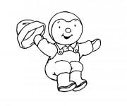 Coloriage tchoupi et doudou dessin gratuit imprimer - Telecharger tchoupi gratuit ...