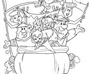 Coloriage The Flintstones 1
