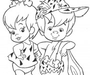 Coloriage The Flintstones 17