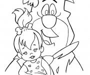 Coloriage The Flintstones 3