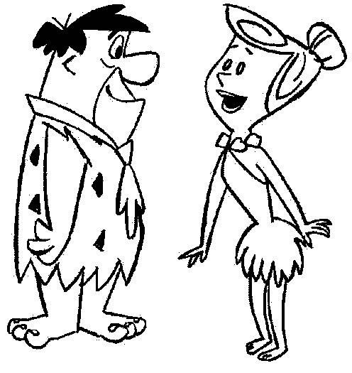 Coloriage et dessins gratuits The Flintstones 37 à imprimer