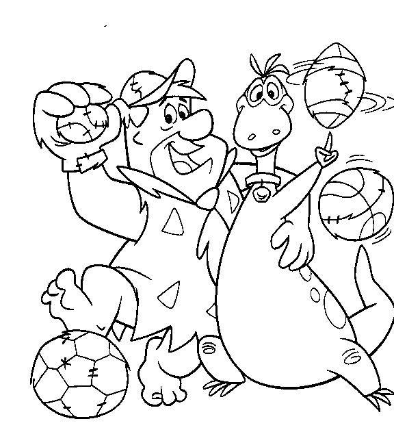 Coloriage et dessins gratuits The Flintstones 38 à imprimer