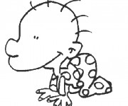 Coloriage et dessins gratuit Titeuf bébé à imprimer