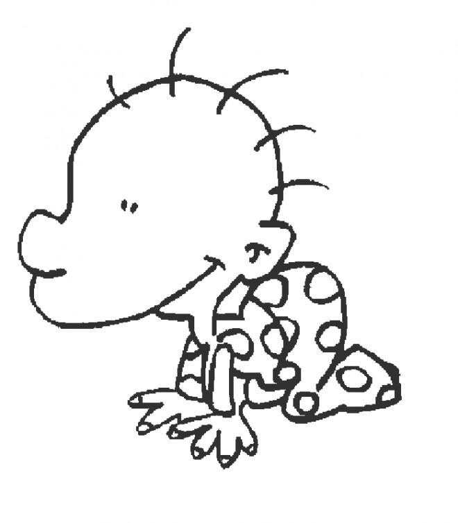 Coloriage et dessins gratuits Titeuf bébé à imprimer