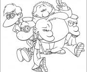 Coloriage et dessins gratuit Titeuf dessin animé en français à imprimer