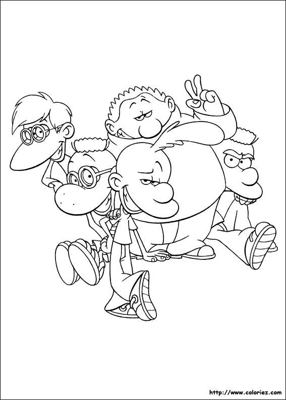 Coloriage et dessins gratuits Titeuf dessin animé en français à imprimer