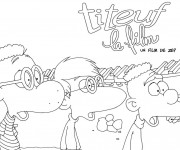 Coloriage Titeuf et ses amis