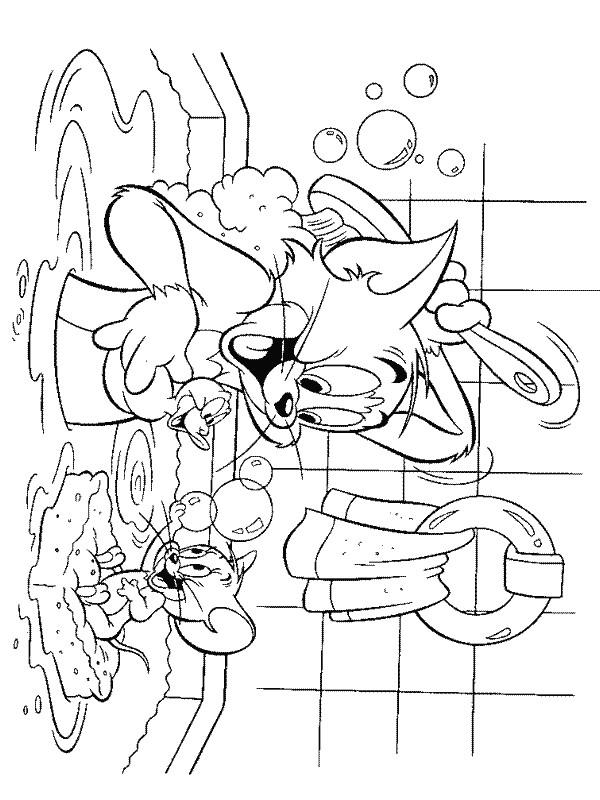 Coloriage de dessin anime tom et jerry - Tom et jerry dessin ...