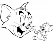 Coloriage Tom et Jerry online