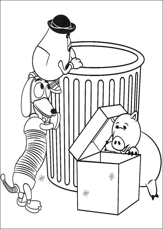 Coloriage et dessins gratuits Bayonne, Zag-Zag et Monsieur patates dessin animé à imprimer