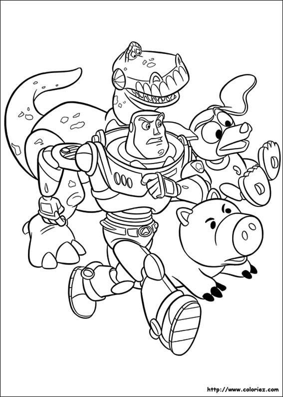 Coloriage Buzz L éclair En Colère Toy Story