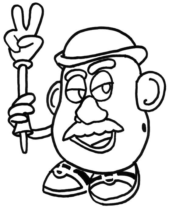 Coloriage et dessins gratuits Monsieur Patate à imprimer