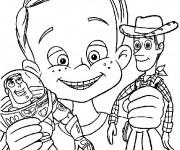 Coloriage Toy Story coloriage enfant