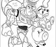 Coloriage Toy Story personnages en ligne