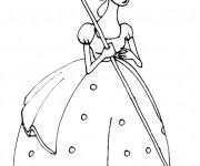 Coloriage Toy Story princesse disney