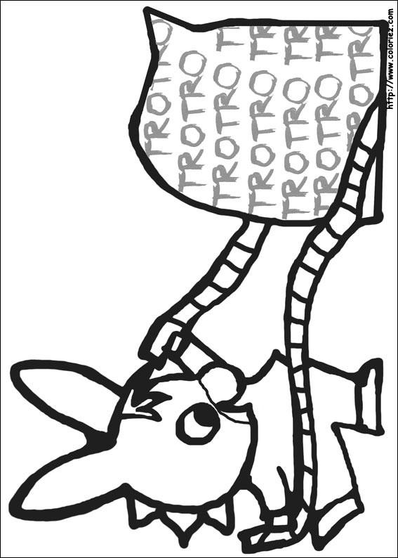Coloriage gratuit ane trotro dessin gratuit imprimer - Coloriage a imprimer trotro ...