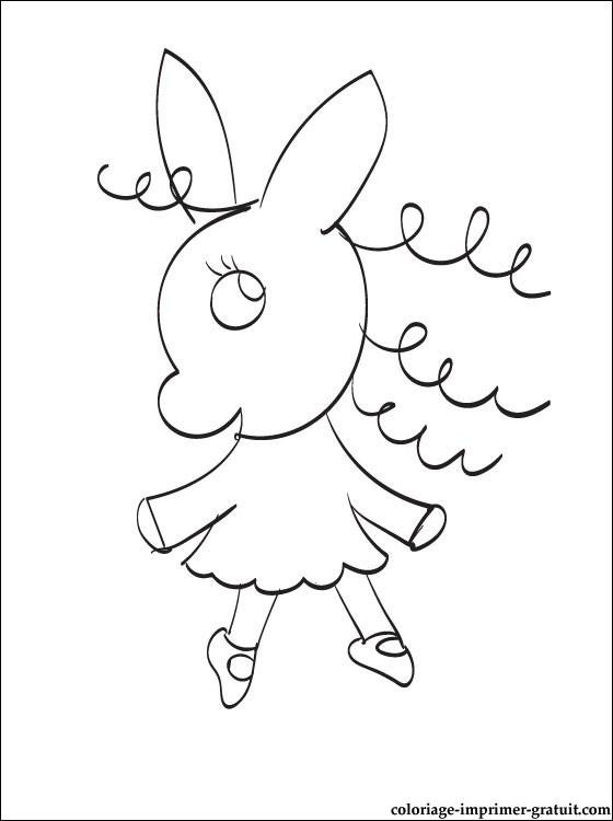 Coloriage et dessins gratuits Nana à imprimer