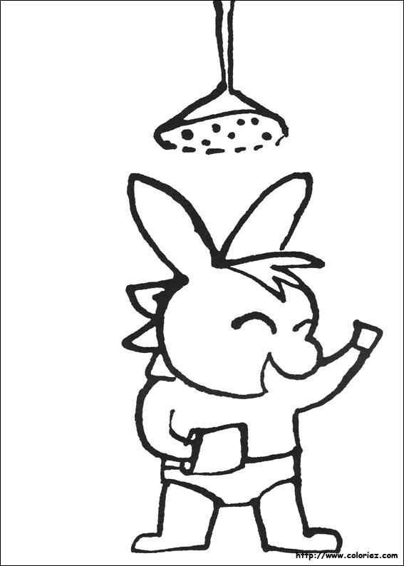Coloriage trotro fait une douche dessin gratuit imprimer - Coloriage ane trotro ...