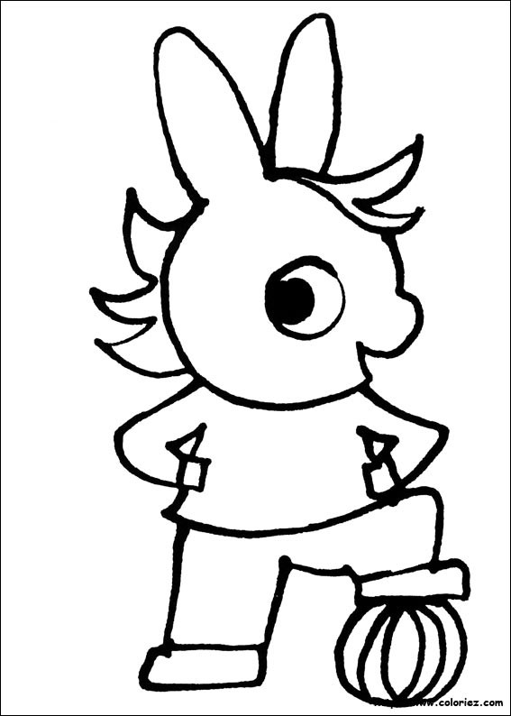 Coloriage trotro joue au ballon dessin gratuit imprimer - Coloriage trotro ...