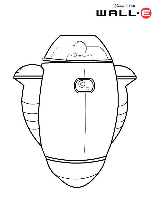 Coloriage et dessins gratuits Dessin GO-4 Robot à imprimer