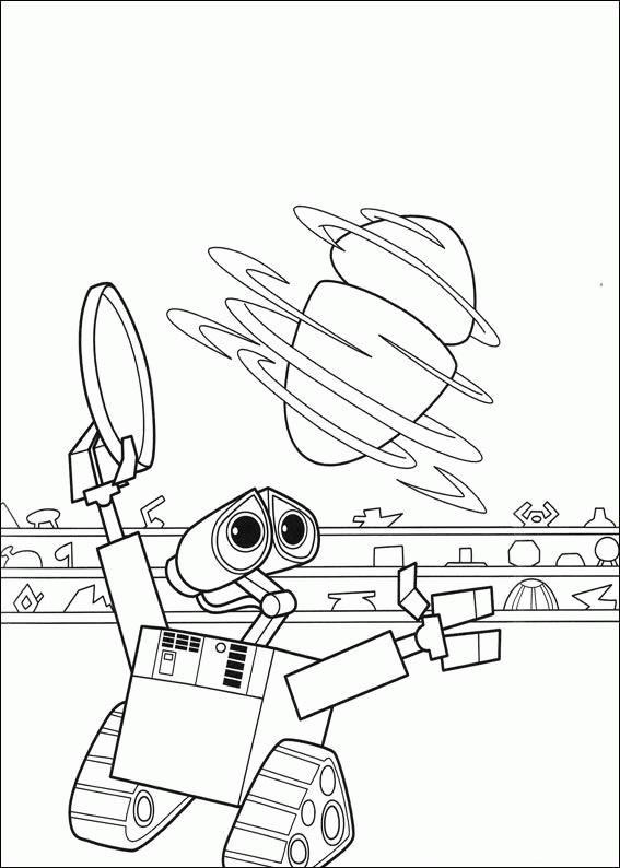 Coloriage et dessins gratuits MVR-A personnage robot à imprimer