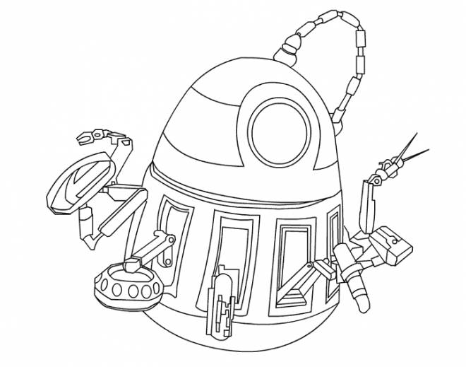 Coloriage et dessins gratuits Wall-E ami à imprimer
