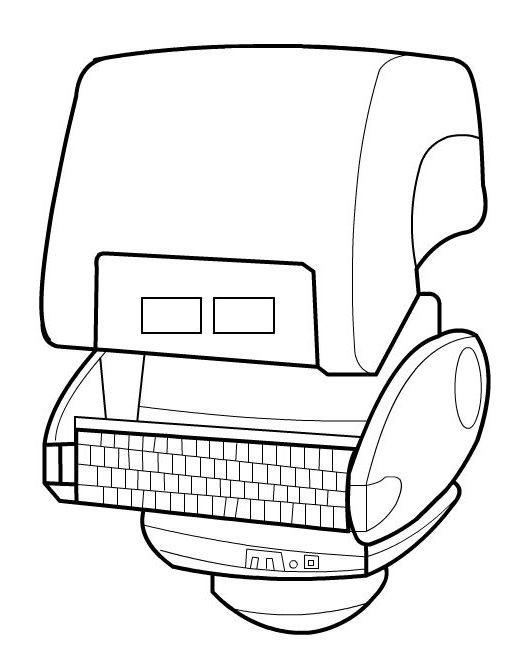 Coloriage et dessins gratuits Wall-E ligne à imprimer