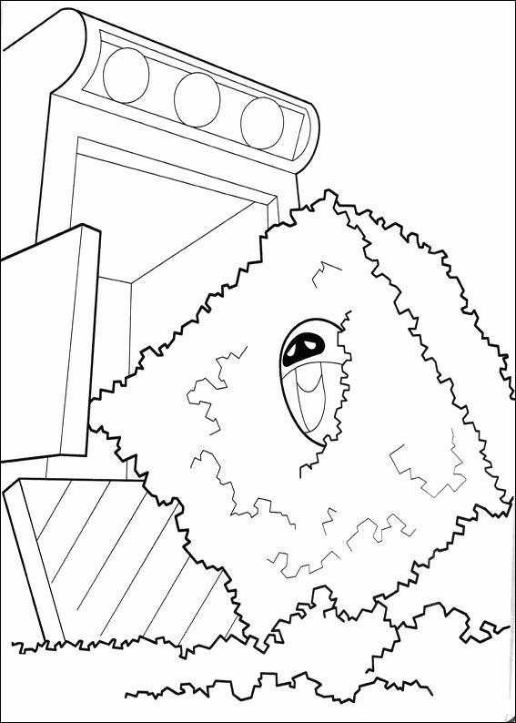 Coloriage et dessins gratuits Wall-E MVR-A en ligne à imprimer
