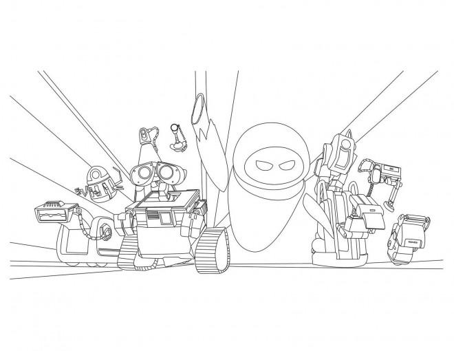 coloriage walle personnages dessin gratuit 224 imprimer