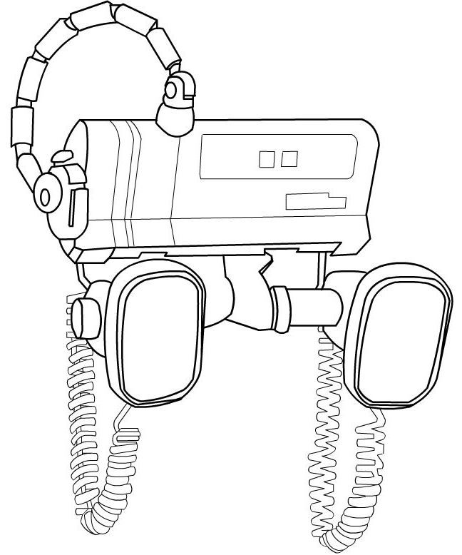 Coloriage et dessins gratuits Wall-E robot à imprimer