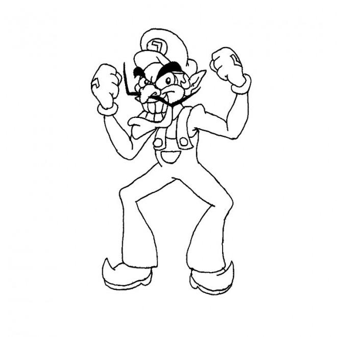Coloriage et dessins gratuits Luigi à imprimer