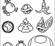 Coloriage Wario personnages