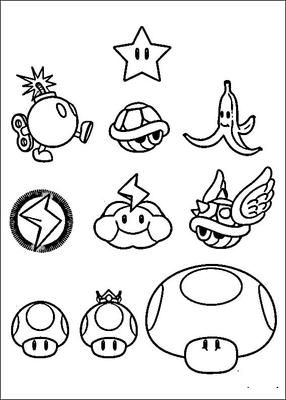 Yoshi Kleurplaten Printen Coloriage Wario Personnages Dessin Gratuit 224 Imprimer
