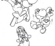 Coloriage Yoshi