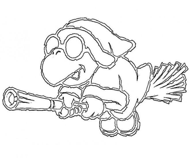 Coloriage et dessins gratuits Yoshi et Birdo à imprimer