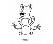 Coloriage et dessins gratuit Etno drôle à imprimer