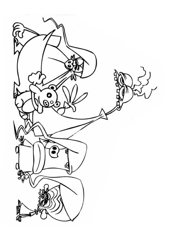 Coloriage et dessins gratuits Zinzin 72 à imprimer